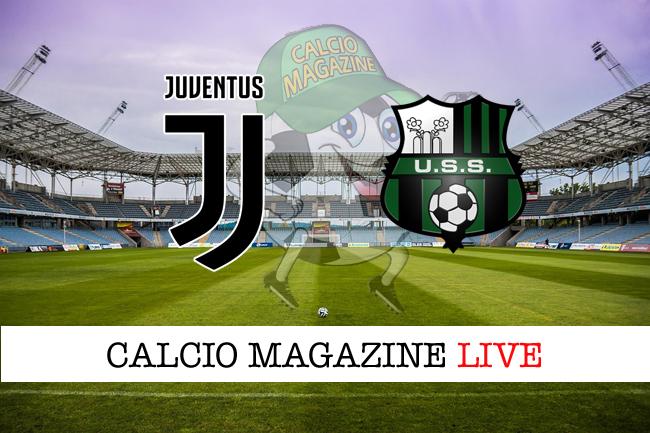 Juventus Sassuolo cronaca diretta live risultato in tempo reale