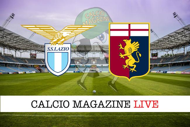 Lazio Genoa live cronaca risultato tempo reale