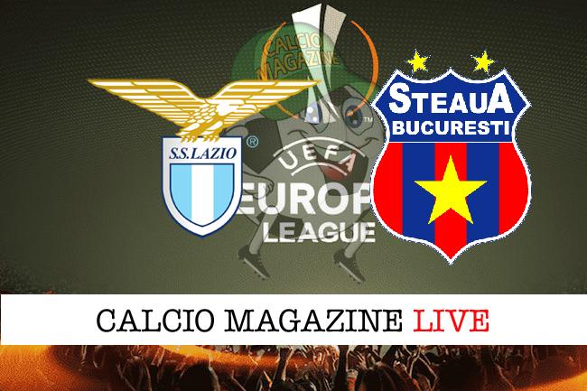 Lazio-Steaua Bucarest: cronaca diretta, risultato in tempo reale