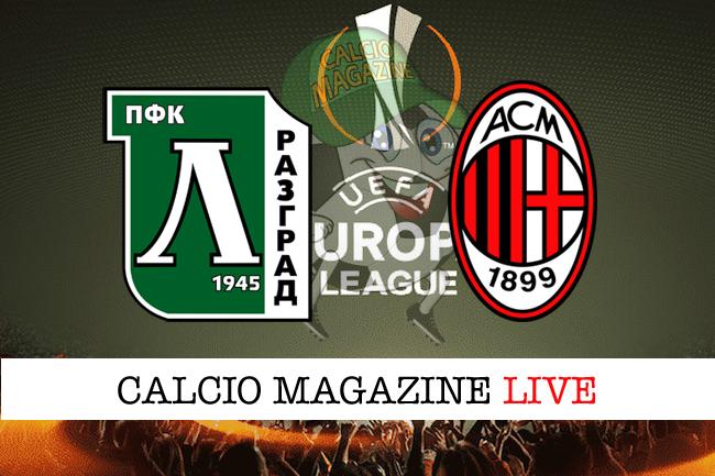 Ludogorets - Milan 0-3: tris rossonero, qualificazione ipotecata
