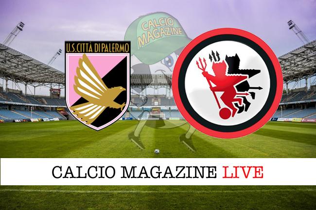 Palermo-Foggia 1-2, giornata 25 Serie B 2017/18
