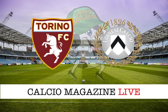Torino Udinese cronaca diretta risultato tempo reale