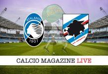 Atalanta Sampdoria recupero Serie A