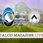 Atalanta Udinese cronaca diretta live, risultato in tempo reale