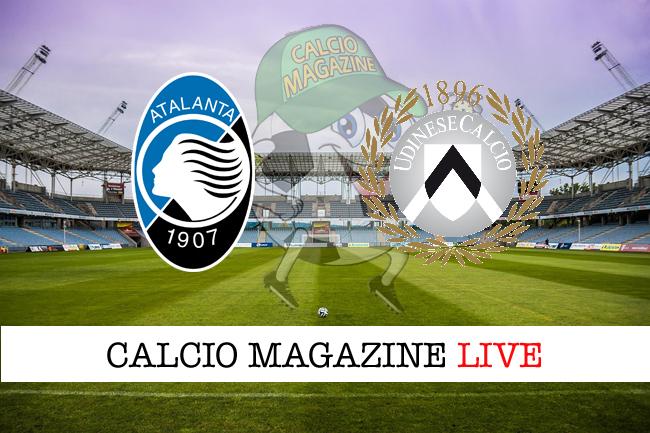 Atalanta - Udinese, le formazioni: tra i pali c'è Gollini