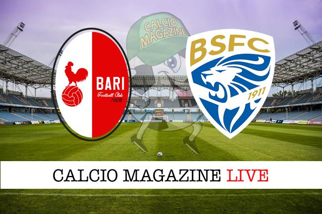 Bari - Brescia 3-0: Improta, Cissé, Nenè, tutto facile per i biancorossi