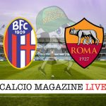 Bologna Roma cronaca diretta live risultato in tempo reale