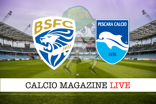 Brescia - Pescara, le formazioni che scendono in campo