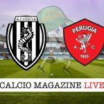 Cesena Perugia cronaca diretta live risultato in tempo reale