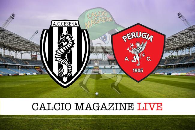 Cesena - Perugia 1-1, il tabellino