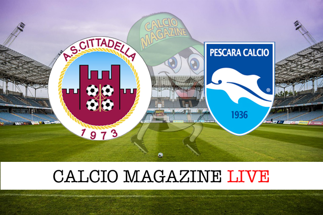 Cittadella - Pescara, formazioni ufficiali: chi scende in campo