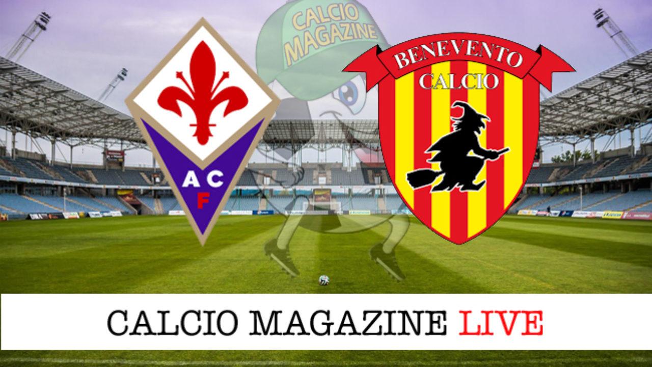 Fiorentina - Benevento 0-1: cronaca diretta live, risultato finale