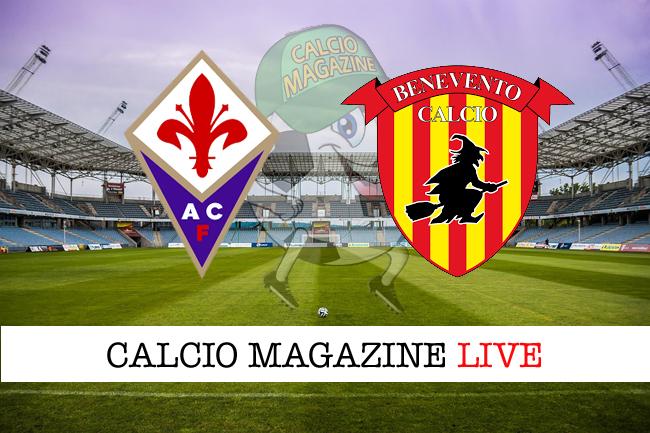Fiorentina-Benevento: cronaca diretta, risultato in tempo reale