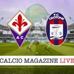 Fiorentina Crotone cronaca diretta live risultato in tempo reale