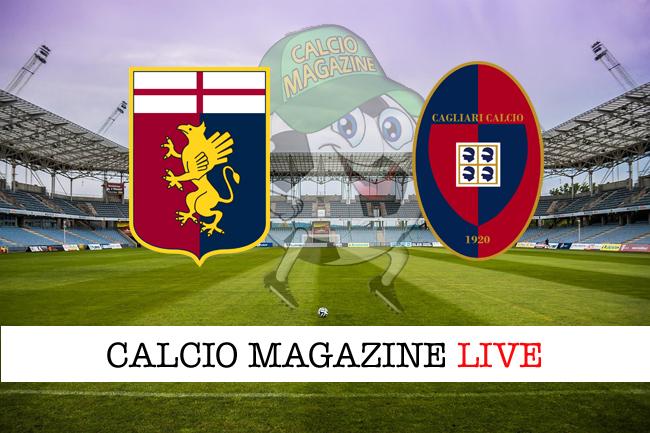Genoa - Cagliari: cronaca diretta, risultato in tempo reale
