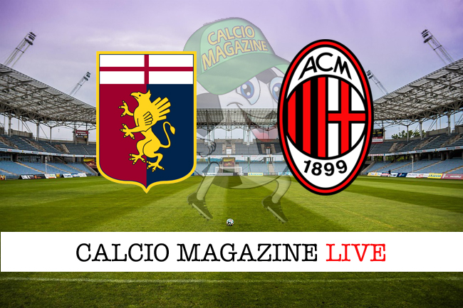 Genoa Milan cronaca diretta risultato in tempo reale