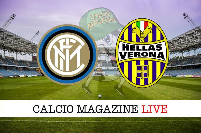 Inter - Hellas Verona, le formazioni: dal 1° minuto Rafinha