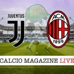 Juventus Milan cronaca diretta risultato in tempo reale