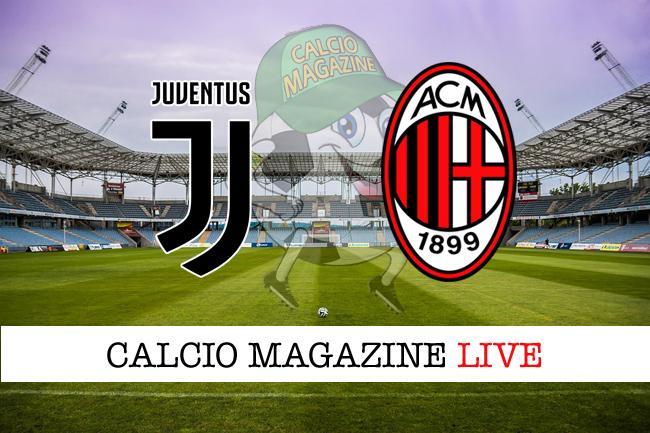 Juventus - Milan 3-1: tris bianconero, +4 sul Napoli