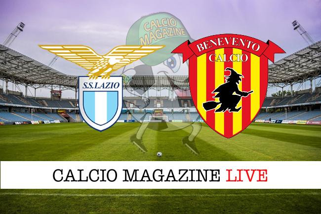 Lazio Benevento cronaca diretta risultato tempo reale