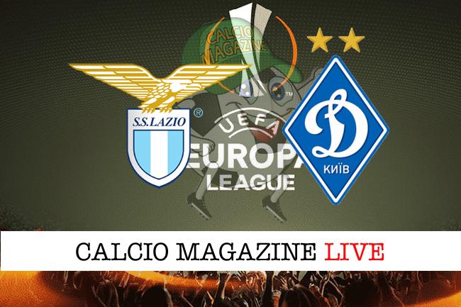 Lazio-Dinamo Kiev: cronaca diretta, risultato in tempo reale