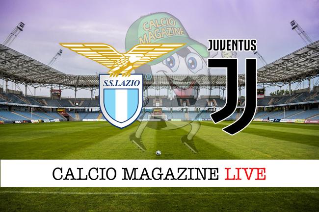 Lazio Juventus cronaca diretta live risultato in tempo reale