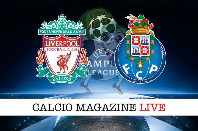 Liverpool - Porto 0-0, il tabellino
