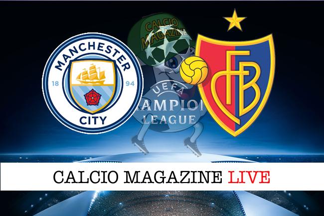 Manchester City-Basilea 1-2, il tabellino
