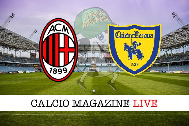Milan - Chievo 3-2, il tabellino