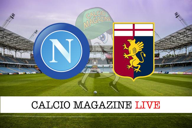 Napoli Genoa cronaca diretta live risultato in tempo reale