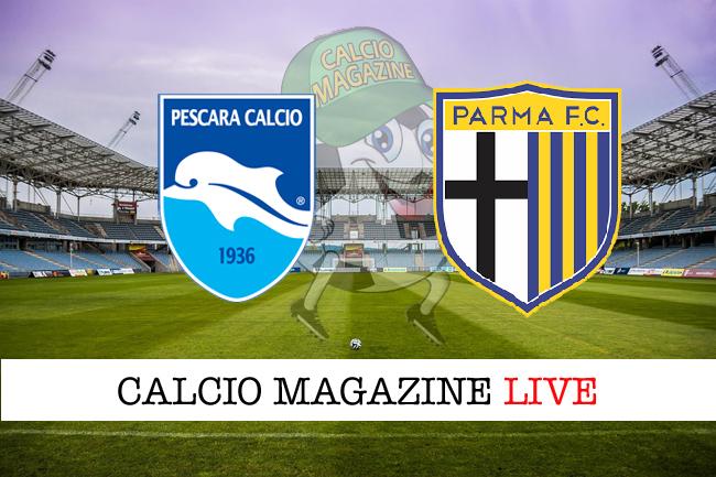 Pescara-Parma 1-4: Calaiò apre il poker degli ospiti