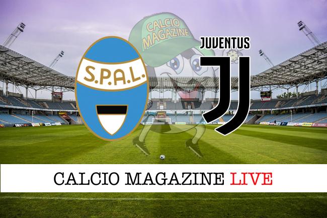 Spal Juventus cronaca diretta live risultato tempo reale