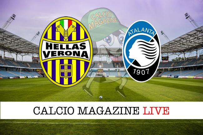 Verona-Atalanta: risultato e tabellino in tempo reale