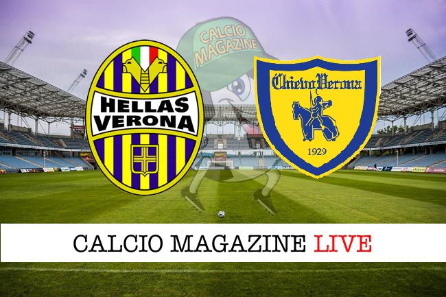 Hellas Verona - Chievo 1-0, il tabellino