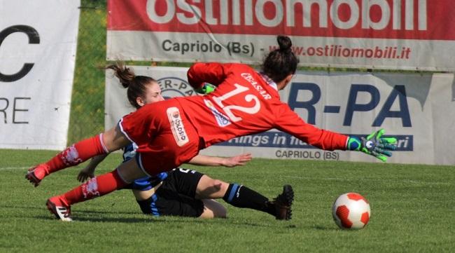 Calcio femminile, 19a giornata: perdono le prime della classe