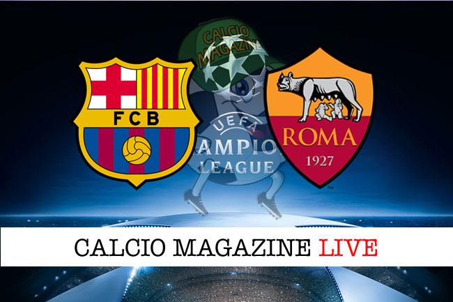 Barcellona Roma quarti finale Champions League