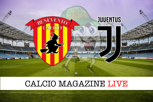 Benevento Juventus cronaca diretta