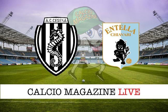 Cesena - Entella 3-0: sorpasso dei romagnoli sui liguri