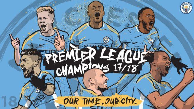 Premier League - Il Manchester City è campione d'Inghilterra