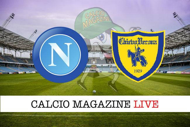 Napoli Chievo diretta risultato tabellino