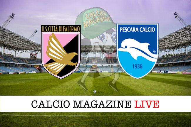 Palermo - Pescara 1-1, il tabellino