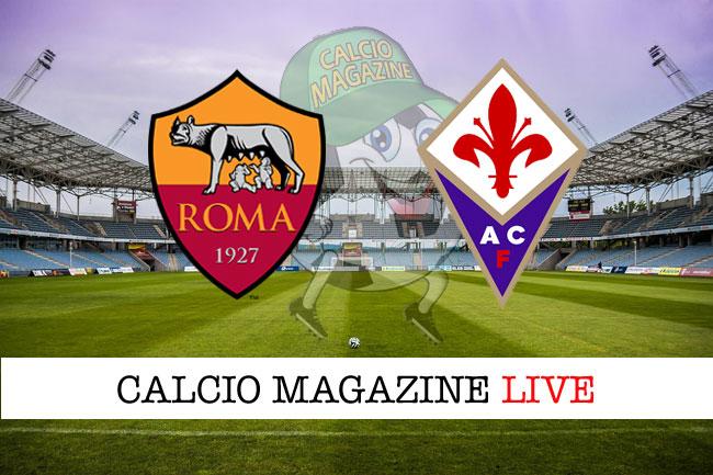 Roma - Fiorentina, le formazioni ufficiali: Bruno Peres e Defrel dal 1'