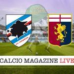 Sampdoria Genoa live cronaca diretta risultato tempo reale