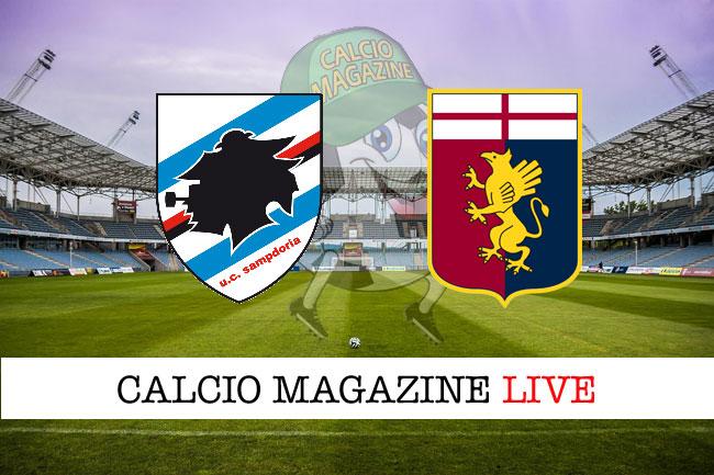 Sampdoria - Genoa, il tabellino