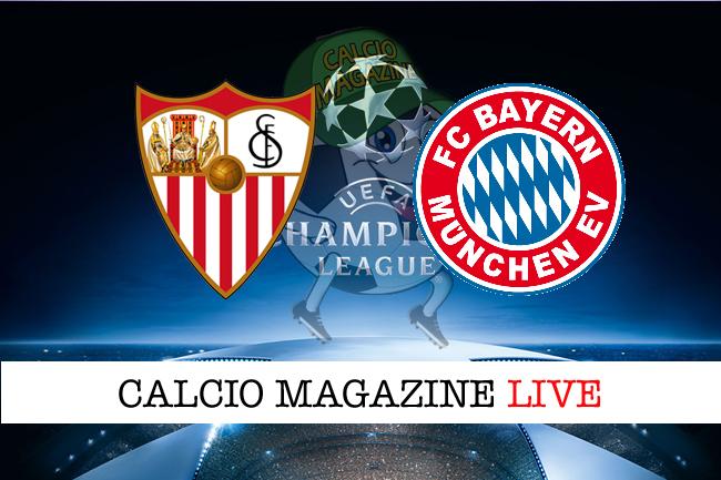 Siviglia Bayern Monaco quarti finale andata Champions League