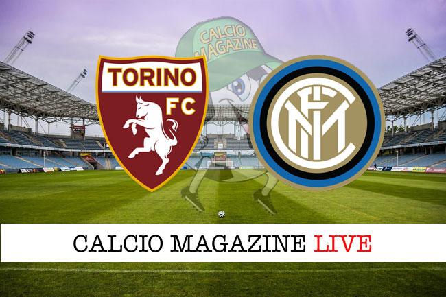 Torino Inter cronaca partita live risultato tempo reale
