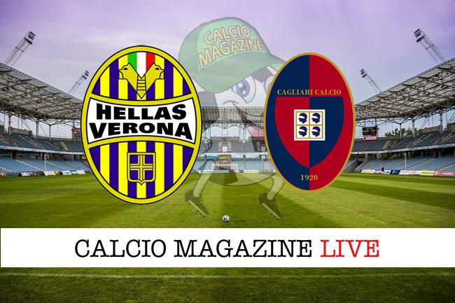 Verona-Cagliari diretta risultato tabellino