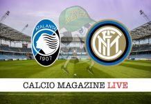 Atalanta Inter cronaca diretta risultato in tempo reale