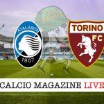 Atalanta Torino cronaca diretta tabellino risultato tempo reale
