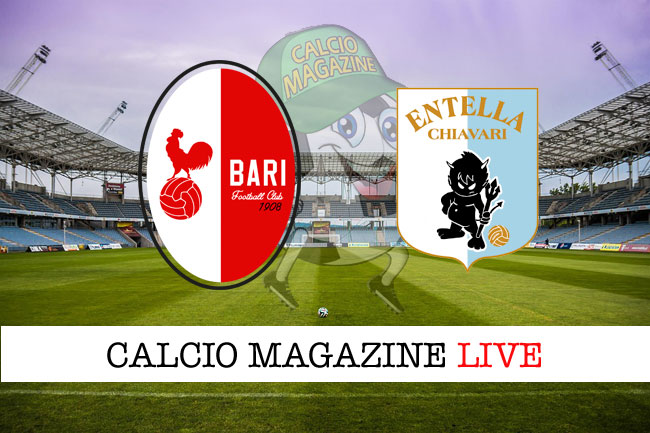 Bari - Virtus Entella 1-0: decide nel primo tempo Balkovec